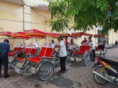 2014 初めてのベトナム・ハノイ④シクロで市街散策