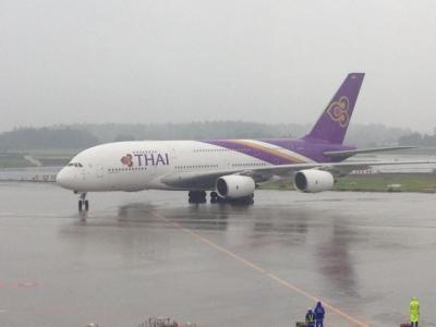タイ航空A380ファーストクラス搭乗記
