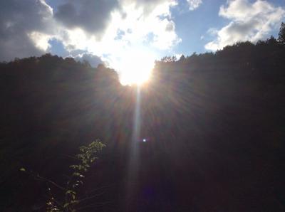 夏の終わりの香嵐渓