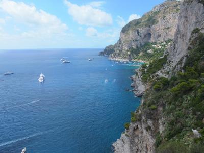 ナポリを拠点に巡る南イタリアの旅 ①カプリ島