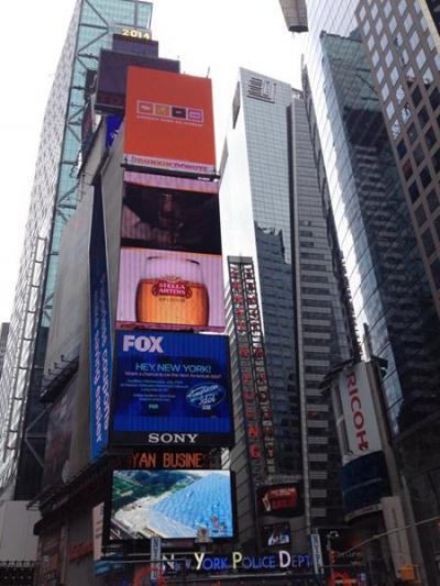 ニューヨーク紀行 06:タイムズスクエア
