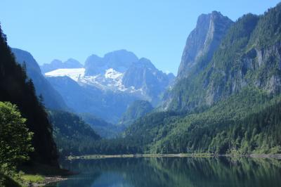 2014年オーストリアハイキングの旅(ゴーザウ湖・ハルシュタット)