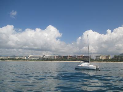 海南島亜龍湾への小さなリゾート旅行記