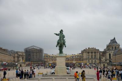 初ヨーロッパ!MHビジネスクラスで行く仏英白1人旅 その5:ヴェルサイユ+パリ編②