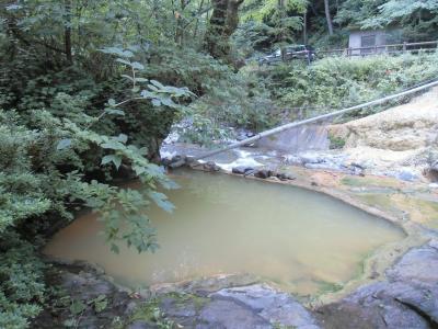 塩沢温泉と濁河温泉