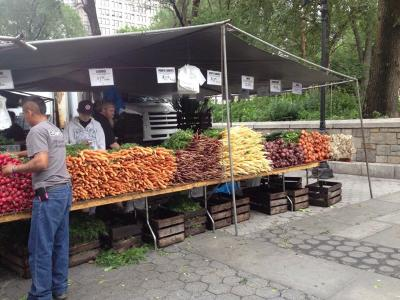 ニューヨーク紀行 16:ユニオンスクエア・グリーンマーケット