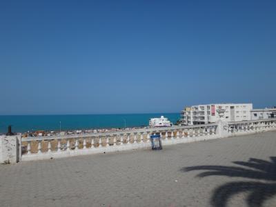2014 チュニジア イスタンブール 4日目 ラマルサプラージュとガマルタの住宅街