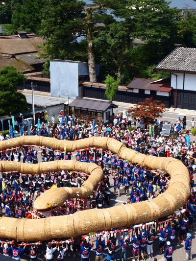2014 「 大したもん蛇まつり 」 の旅 < 新潟県岩船郡関川村 >