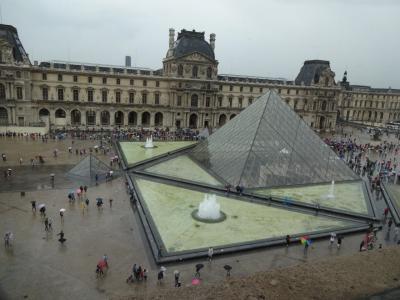 子連れ旅行 フランス・パリ その2 ルーブル美術館で「モナリザ」を見るのだ