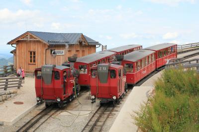 2014年オーストリアハイキングの旅(シャーフベルク鉄道・ヴォルフガング湖散策)
