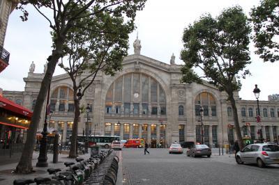 子連れ旅行 フランス・パリ その3 名残惜しいけど・・・さぁ、帰国。北駅からRERでシャルル・ド・ゴール空港(CDG)へ、キャセイ利用、香港 経由 羽田行き