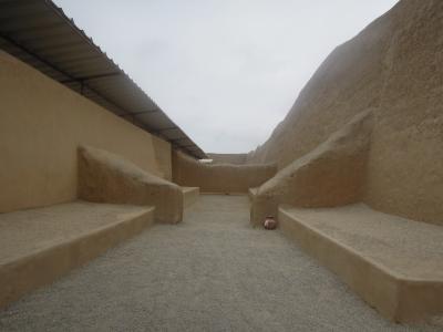 トルヒールヨのプレインカの世界遺産チャンチャン遺跡 Trujillo