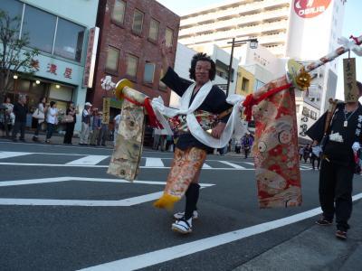 日本三大奇祭の島田帯まつり