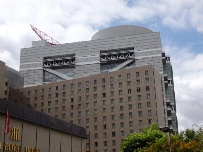 日本の旅 関西を歩く 大阪市北区の中之島駅(なかのしまえき)、リーガロイヤルホテル周辺