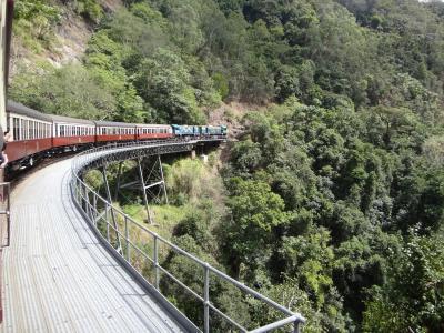 2012年秋はオーストラリアに行ってみました。(11) キュランダ鉄道に乗って。