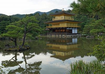 メジャーな金閣寺とマイナーな神社を巡る