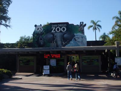 ママとサンディエゴ動物園