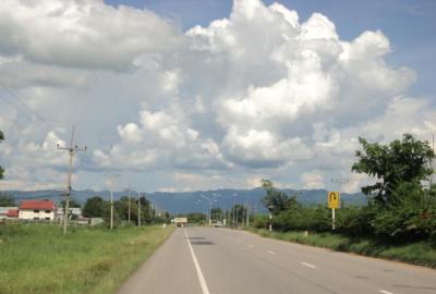 ★バイク旅・ 2014.9★ パヤオの町々(1)ドッカムタイ、チェンムアン