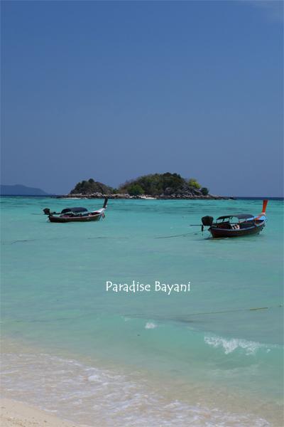 ランカウィとThaiアンダマンの島々 34日間 Vo.3 Ko Lipe
