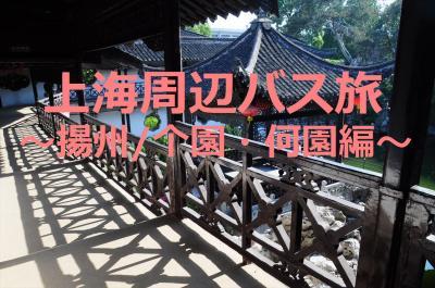GW上海周辺バス旅5★揚州★揚州園林を満喫~小ぢんまりした个園と中洋折衷の何園~