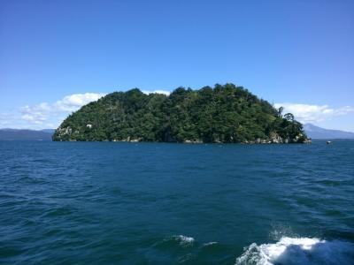 竹生島に初上陸