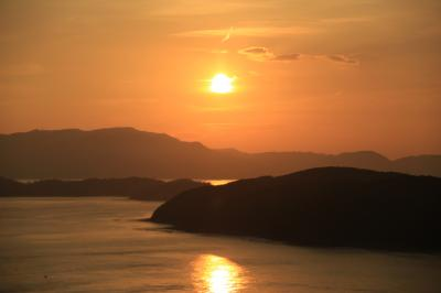旅するイルカ♪ 和歌山 加太 夕景へ