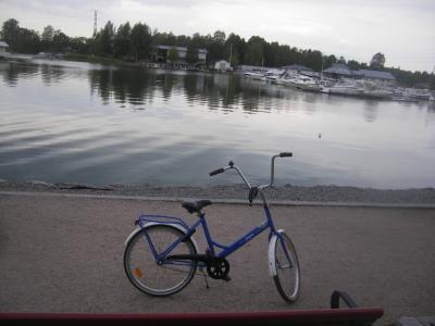 北欧三カ国家族旅行 その1 フィンランド編 ヘルシンキをレンタル自転車で回ります。