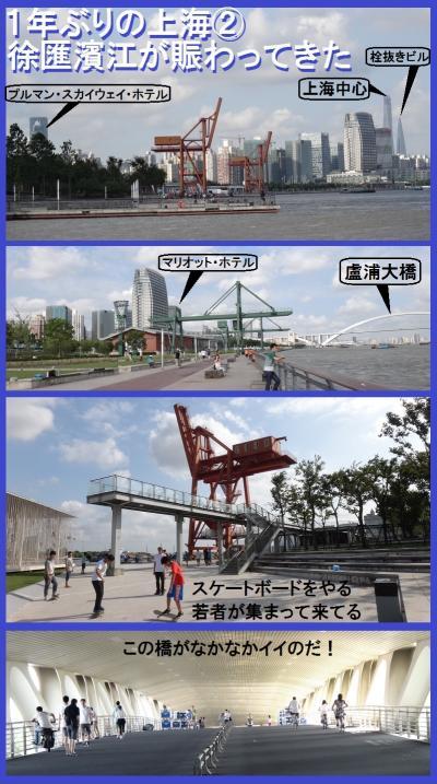 1年ぶりの上海②徐匯濱江が賑わってきた&龍美術館