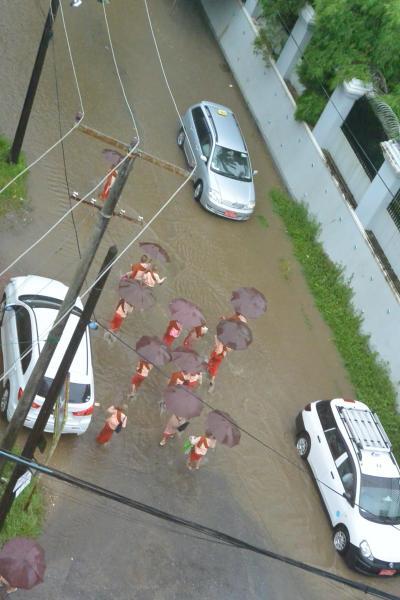 雨季のヤンゴンをぶらぶら 9月中編
