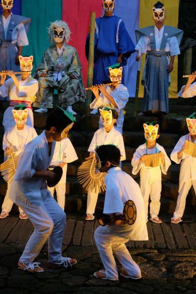 第9回 王子狐の夕すず美 2014 音無親水公園 舞台 上