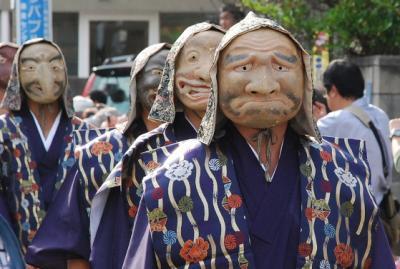 鎌倉面掛行列のお祭りと街並み散歩(鎌倉)