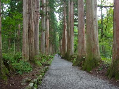 戸隠神社へ日帰り旅