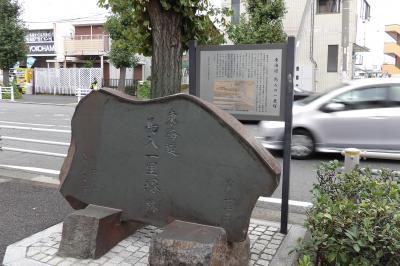 東海道 馬入一理塚跡