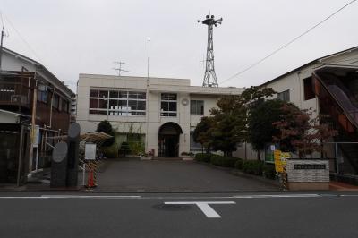 平塚市立松原公民館と東海道 馬入松原跡