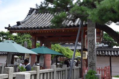 葛井寺-西国三十三カ所5番札所、仲哀天皇陵、辛国神社