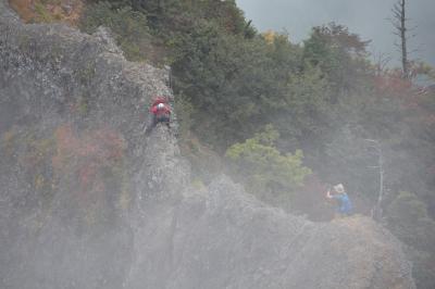 岩場が怖い!「日本神話と修験信仰」戸隠山を踏破