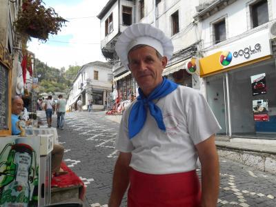 ギロカスタル(アルバニア) 2014.9.5