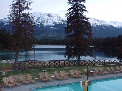 2012年春【3】・エアカナダ・ビジネスクラスで行く、ナイアガラの滝、カナディアンロッキー満喫の旅(トロント→ジャスパー到着編)
