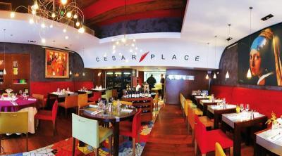 朝仕入れた新鮮な食材でその日のメニューが決まるCesar Place