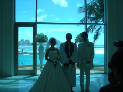 2014・9月  初めてのハワイ②  息子の結婚式