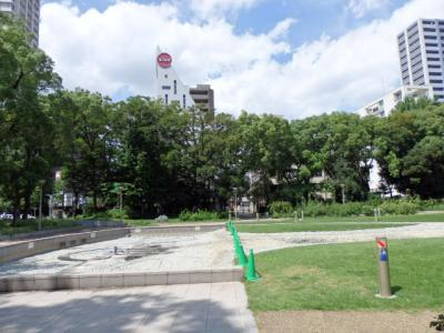 日本の旅 関西を歩く 大阪市西区の常安橋(じょうあんばし)、靱公園(うつぼこうえん)、大阪科学技術館(おおさかかがくぎじゅつかん)、楠永神社(くすながじんじゃ)周辺
