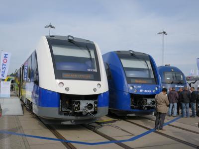 2度目のベルリン4泊6日(4:鉄道の祭典InnoTrans2014)