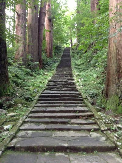 長距離ドライブ:出羽三山をめぐる旅1 最上川下り・羽黒山