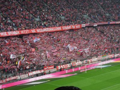 ドイツでサッカー観戦