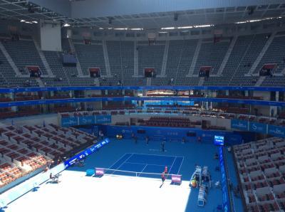 北京スポーツ観戦 ② ーテニス チャイナオープン2014  初めてのプロテニス観戦ー
