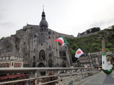 初 海外家族旅行ベルギー&オランダ 5 アルデンヌの街 ディナン再び
