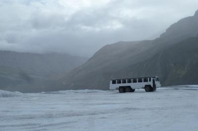2014カナダへの旅 レンタカーで巡るバンフ~ジャスパー Day4(Columbia Icefield、Jasper)