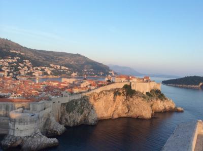 クロアチア・南イタリア女子一人旅②ードブロヴニクの青い海