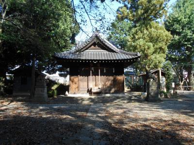 武蔵鴻巣 坂上田村麻呂が退治し大蛇を埋めたという氷川神社と常勝寺散歩