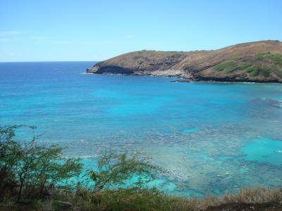 2014・9月  初めてのハワイ③  ダイアモンドヘッドとハナウマ湾